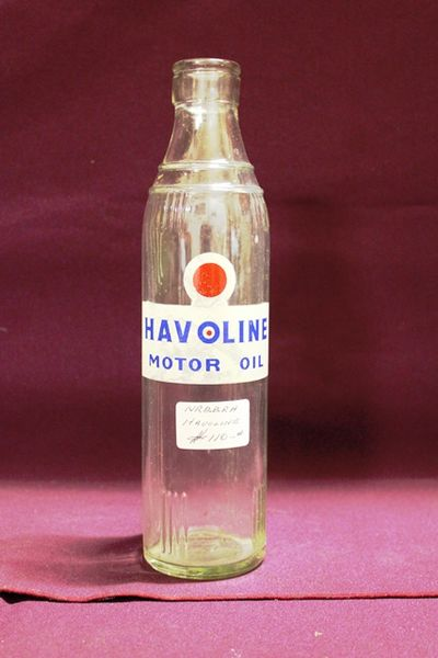 Halvoline by Caltex Motor Oil Bottle | XXXX Antique Complex