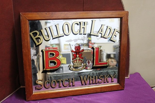 Bulloch Lade Scotch Whisky Advertising Pub Mirror
