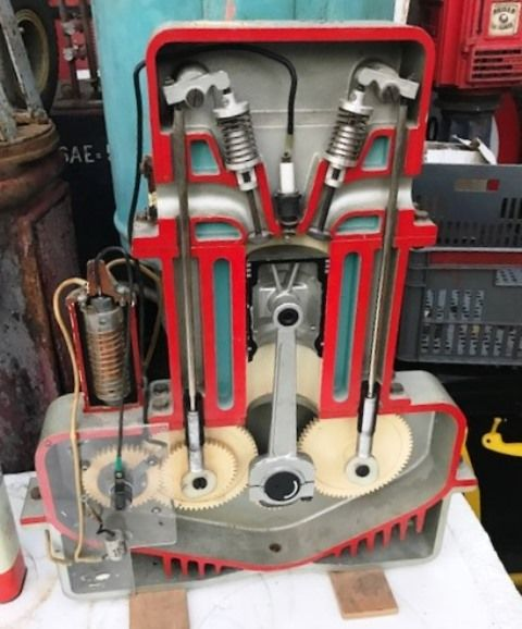 ARRIVING NOVEMBER Piston Engine