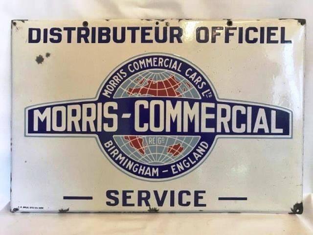 ARRIVING NOVEMBER  MorrisCommercial Advertising Sign