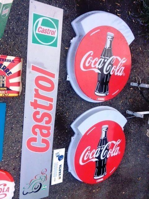ARRIVING NOVEMBER   Coca Cola Advertising Sign