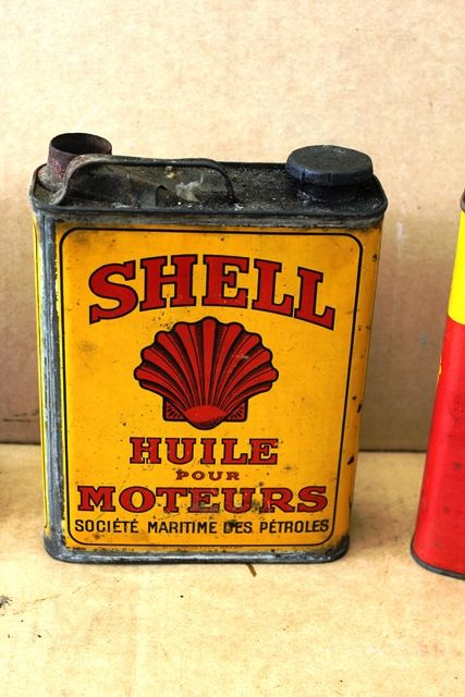 ARRIVING NOV  SHELL MOTORING TINS and POROURS