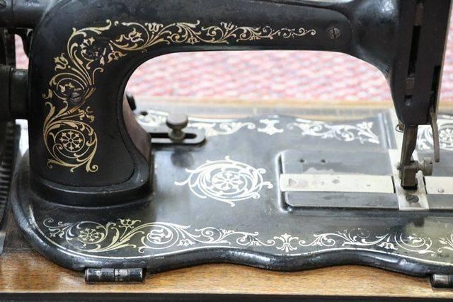 Antique Fiddle Base Sewing Machine