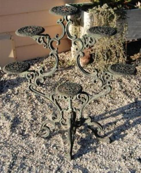 Cast Iron Plant Stand --- CI 51