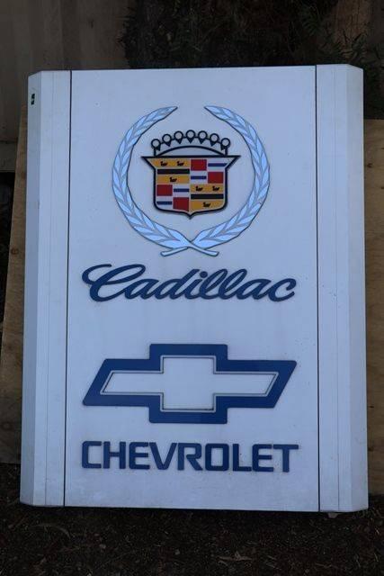 Chevrolet Cadillac Light Box