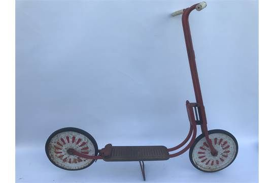 Vintage Childand39s Scooter