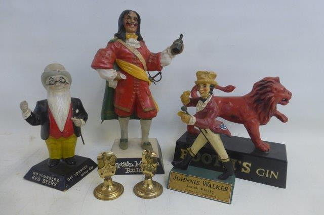 Selection of Pub Related Advertising Figures