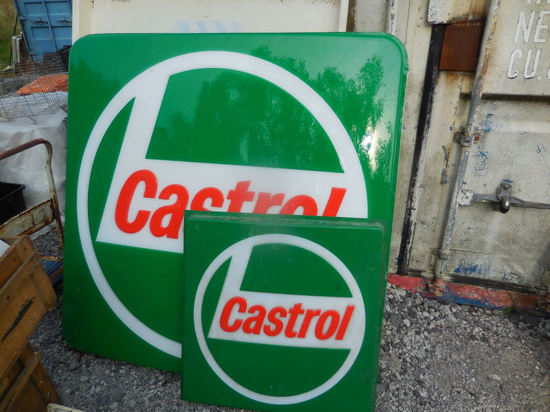 Large and Small Castrol L Acrylic Light Box Lenses