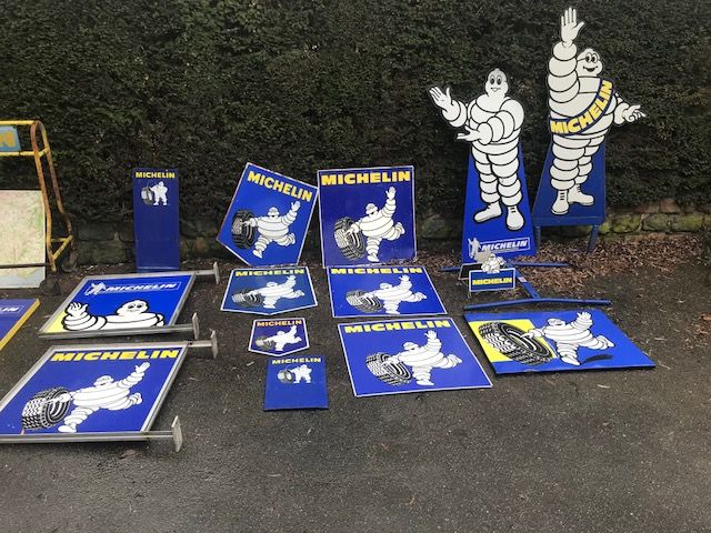 Selection of Michelin Arriving