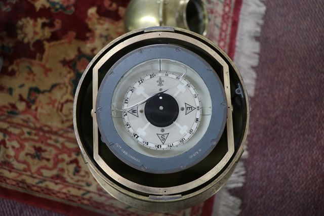 A Ship Binnacle Housing a Compass