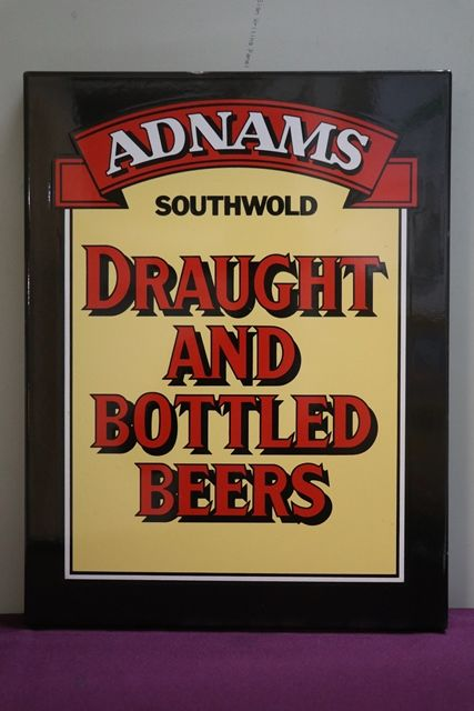 Adnams Southwold Beers Enamel advertising Sign