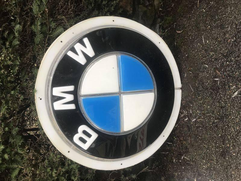 Genuine BMW Acrylic Dealers Showroom Sign
