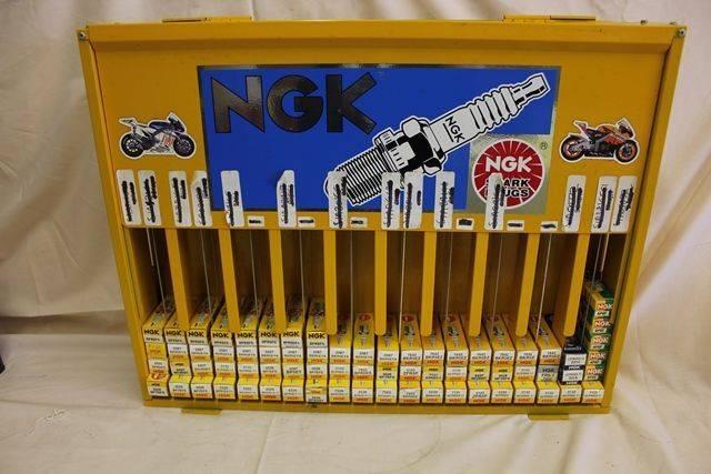 NGK Spark Plug Dispensing Cabinet
