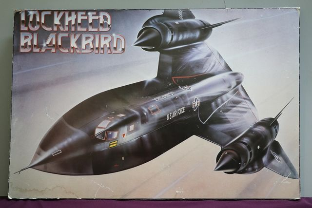 Lockheed Blackbird Sign