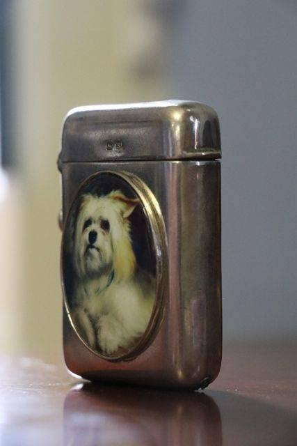 Birmingham Silver 1917 Vesta Cigarette Lighter