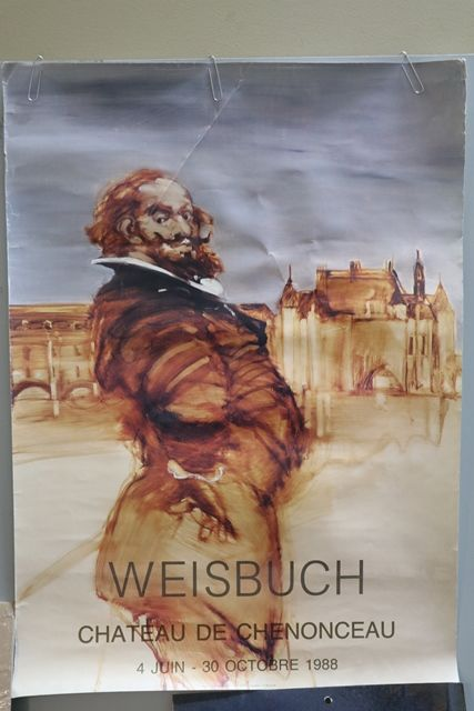 French Art Poster Weisbuch 1988