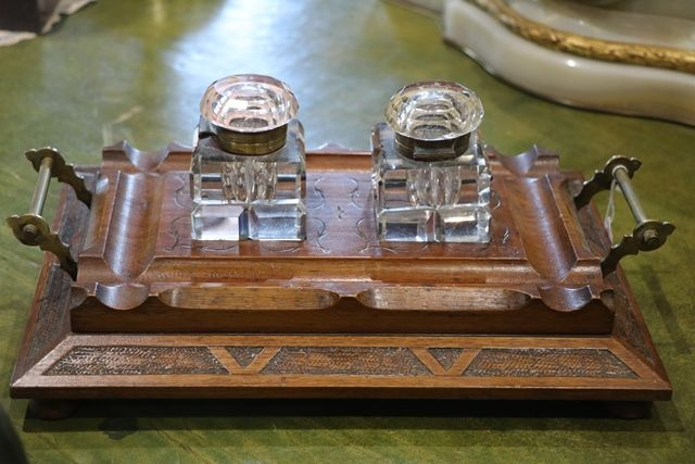 Late Victorian Desk Set