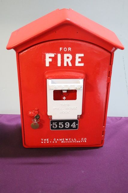 Vintage Original Gamewell Fire Alarm Call Box 5594