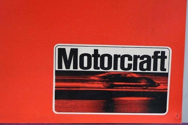 Motorcraft Oil Filter Sign