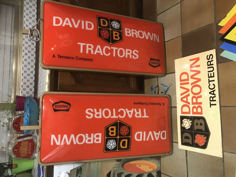 2019 David Brown Tractors Light Box