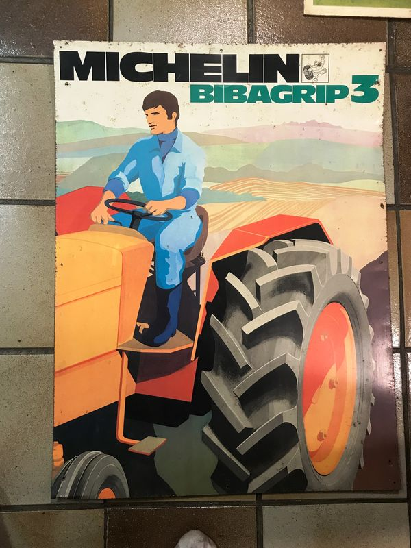2019 Michelin Tractor Pictorial Tin Sign