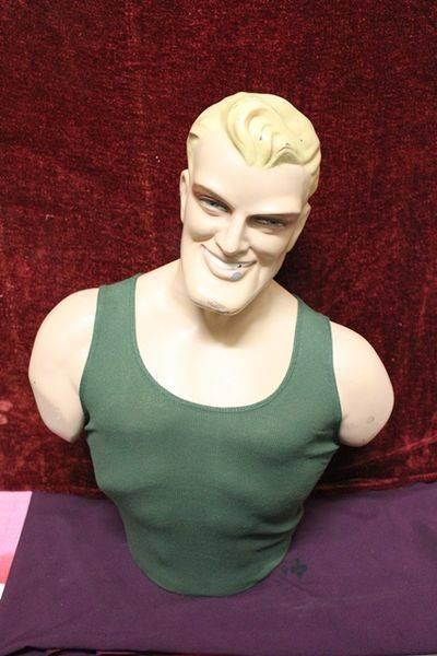 Chesty Bond Plastic Figurine