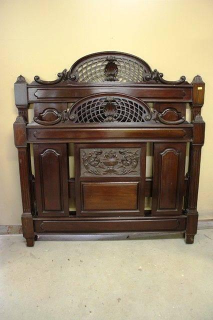Late Victorian Mahogany 4 Piece Bedroom Suite