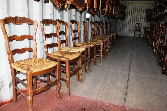 Set Of 12 French Dining Chairs