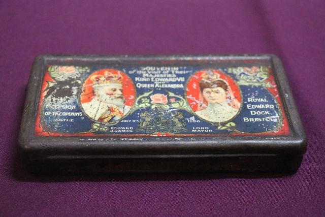 1908 Souvenir Tin King Edward VII