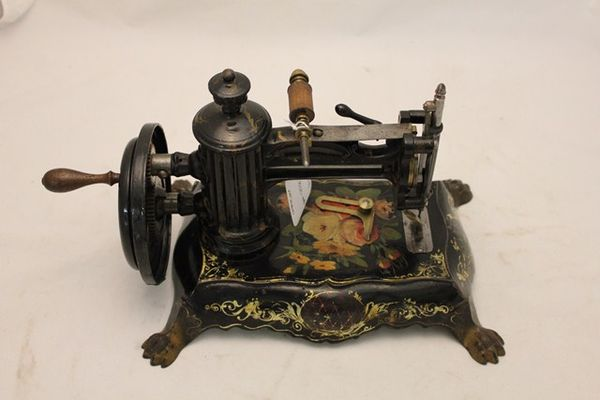 Mid Victorian Cast Iron Empire Sewing Machine