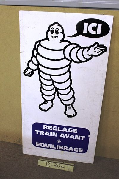 Michelin Double Sided Advertising Board Sign