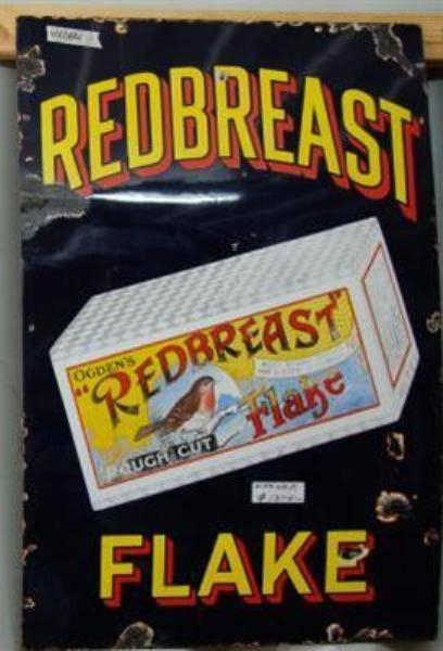 Redbreast Flake Enamel Sign---ST26