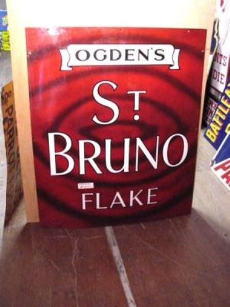 OGDENS ST BRUNO FLAKE SIGN [MINT]---ST80