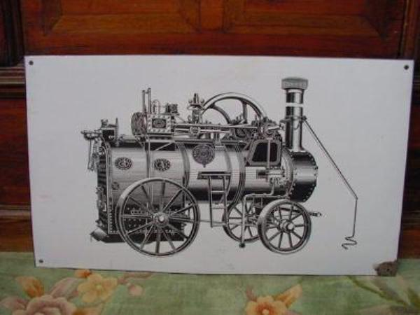 Blackstone Steam Engine Machinery sign--- SM29