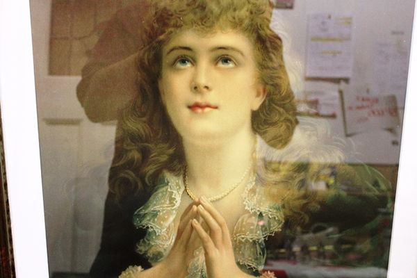 Framed Victorian Portrait Print