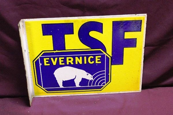 TSF Evernice Post Mount Tin Sign