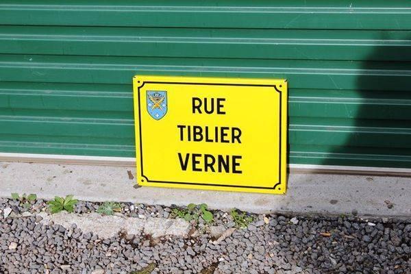French Enamel Street Sign