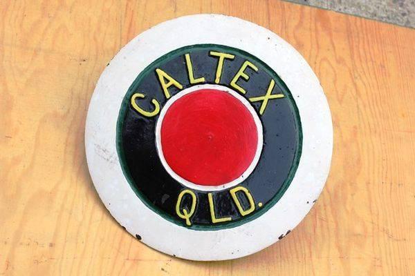 Caltex Cast Iron Tank Cover
