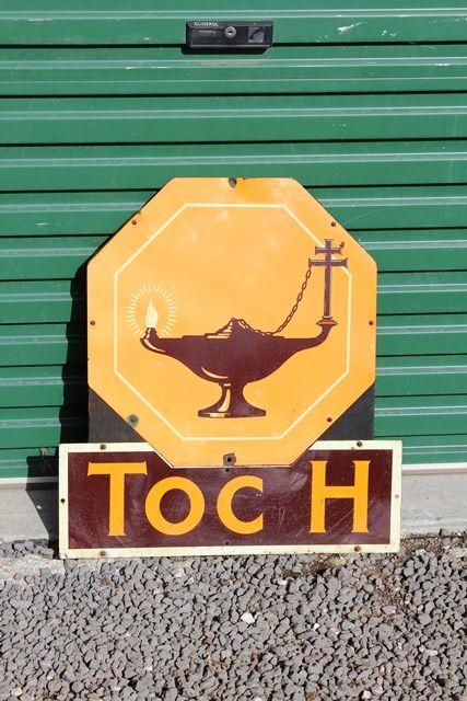 Rare Texaco Convex Enamel Sign