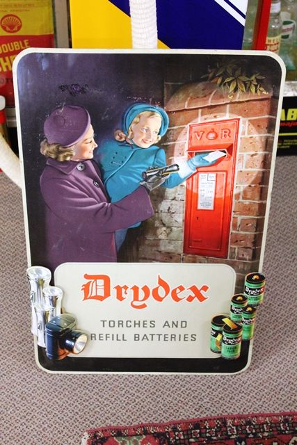 Drydex Batteries Advertising Board