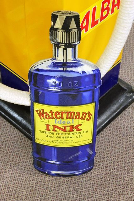 Watermans Ink Shop Display Card