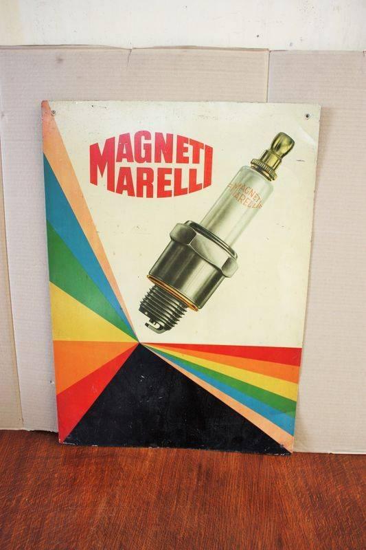 ARRIVING SOON Magnet Marell Spark Plug Tin Sign