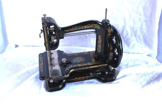 ARRIVING SOON Antique White andquot GEMandquot Sewing Machine