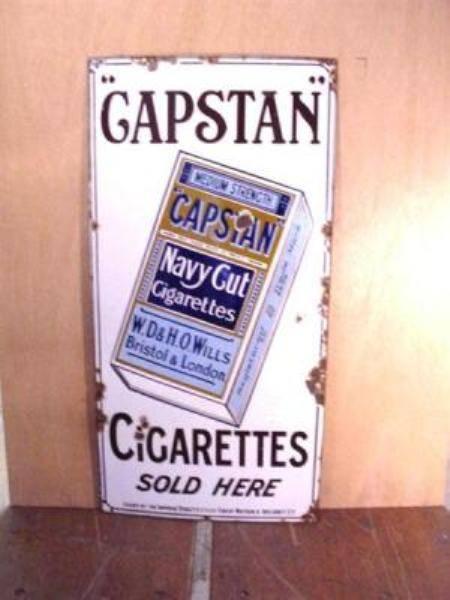 CAPSTAN NAVY CUT SIGN ----ST77