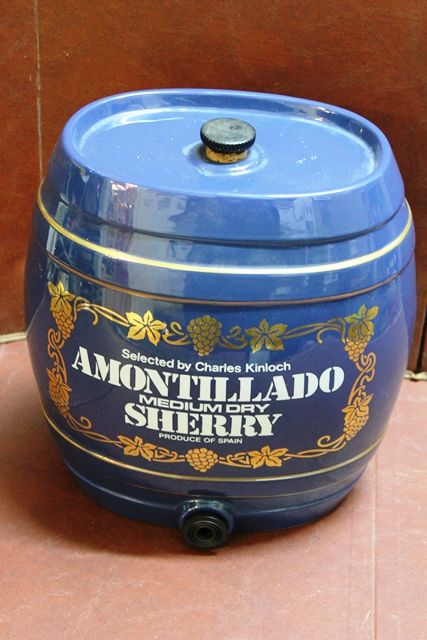 Ceramic Amontillado Medium Dry Sherry Dispenser