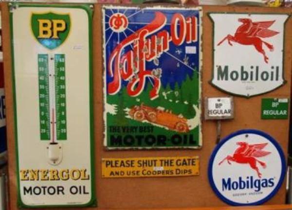 Motor Oil Antique Signs ---SA26