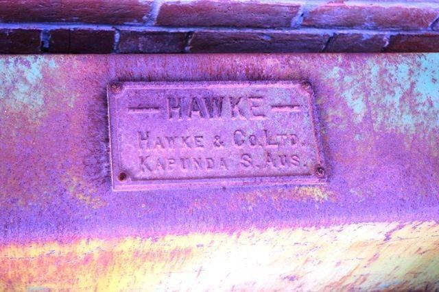 Hawke and Co South Australia Railway Scales