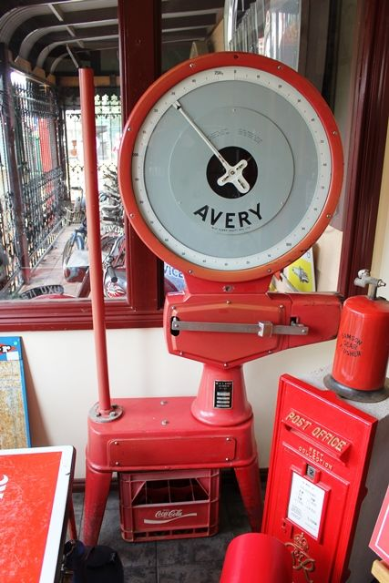 Large Industrial Avery Scales