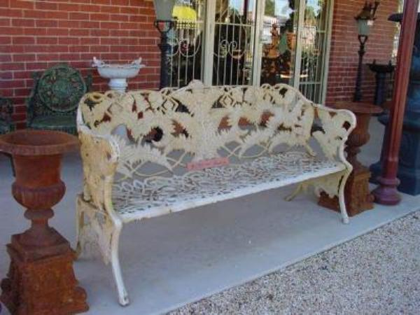 CAST IRON COLEBROOKDALE BENCH    GF46