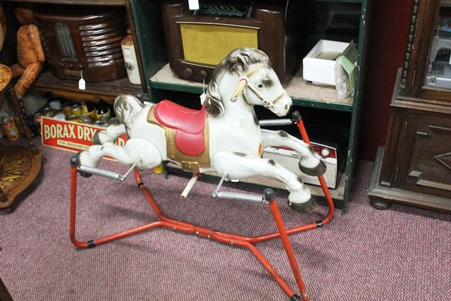 Mobo Spring Tin Plate Rocking horse